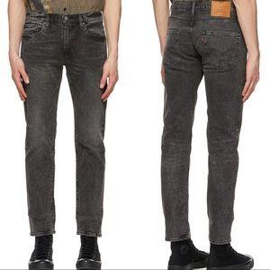 Levi's 502 Grey Slim Tapered Straight Leg Jeans
